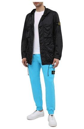 Мужская куртка STONE ISLAND черного цвета, арт. 741544430 | Фото 2