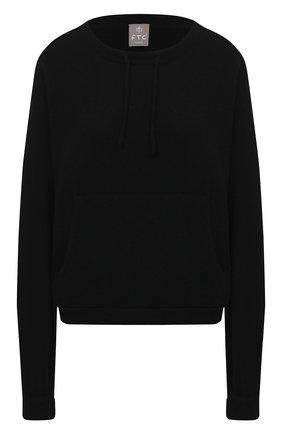 Женский кашемировый пуловер FTC черного цвета, арт. 830-0570 | Фото 1