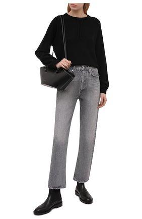 Женский кашемировый пуловер FTC черного цвета, арт. 830-0570 | Фото 2