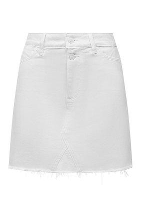 Женская джинсовая юбка PAIGE белого цвета, арт. 5739G35-4520 | Фото 1
