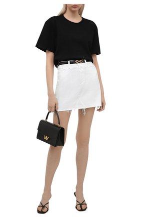 Женская джинсовая юбка PAIGE белого цвета, арт. 5739G35-4520 | Фото 2