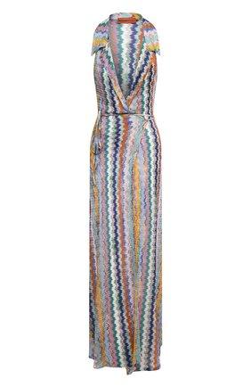 Женское платье из вискозы MISSONI разноцветного цвета, арт. MMQ00219/BR00E8 | Фото 1