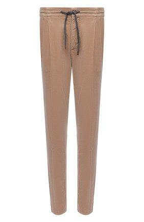 Мужские хлопковые брюки BRUNELLO CUCINELLI бежевого цвета, арт. M280DE1740 | Фото 1