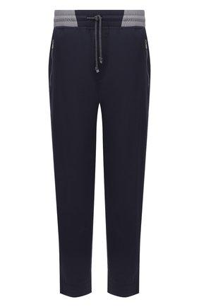 Мужские брюки BRUNELLO CUCINELLI темно-синего цвета, арт. MM45A7322G | Фото 1