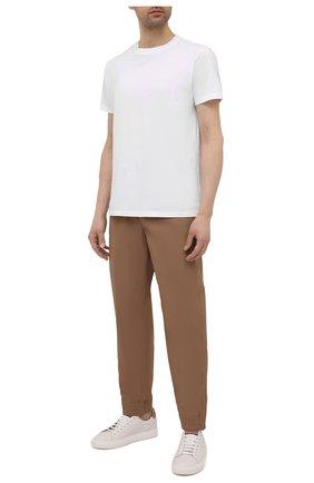 Мужские брюки BRUNELLO CUCINELLI коричневого цвета, арт. MM45A7322G | Фото 2