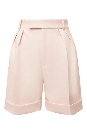 Женские шорты KHAITE розового цвета, арт. 3074437/MAGDELINE | Фото 1