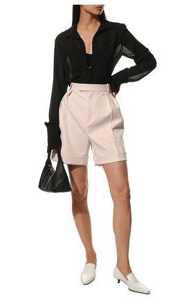 Женские шорты KHAITE розового цвета, арт. 3074437/MAGDELINE | Фото 2