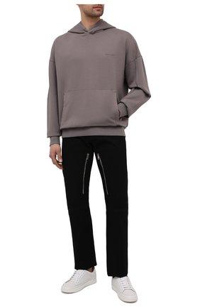 Мужской хлопковое худи A-COLD-WALL* серого цвета, арт. ACWMW030 | Фото 2