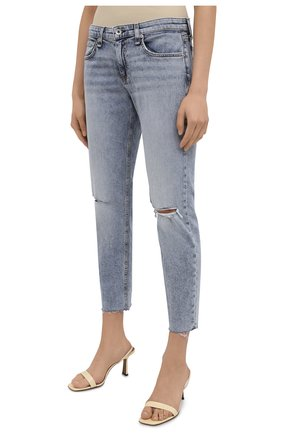 Женские джинсы RAG&BONE голубого цвета, арт. WDD21S2643K1SH | Фото 3