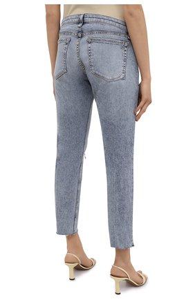 Женские джинсы RAG&BONE голубого цвета, арт. WDD21S2643K1SH | Фото 4