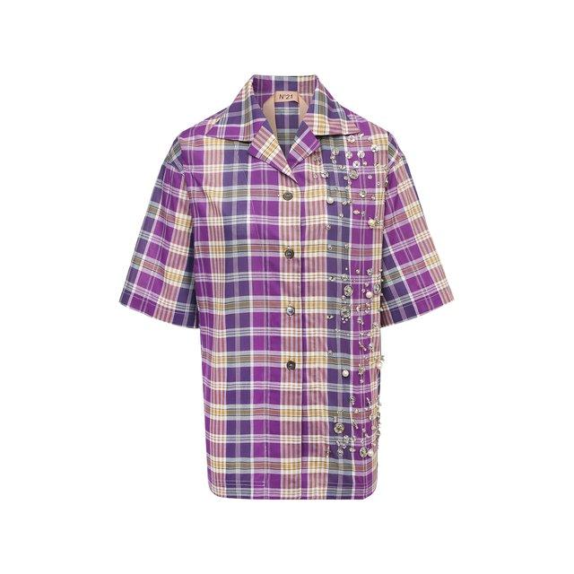 Хлопковая рубашка N21