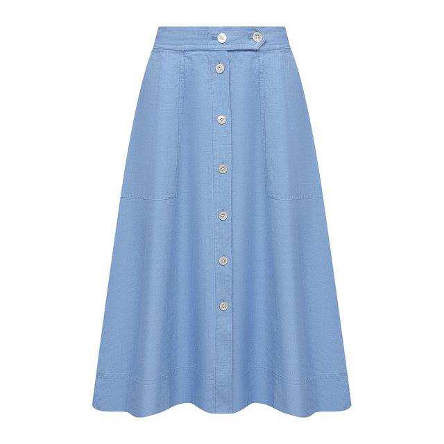 Льняная юбка Polo Ralph Lauren