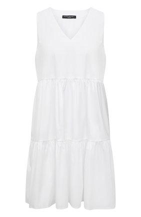 Женское хлопковое платье PIETRO BRUNELLI белого цвета, арт. AG0443/C0P319   Фото 1