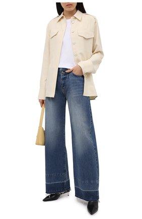 Женские джинсы FRAME DENIM синего цвета, арт. MPJRH385   Фото 2