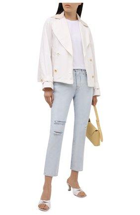 Женские джинсы FRAME DENIM голубого цвета, арт. L0J385/F   Фото 2