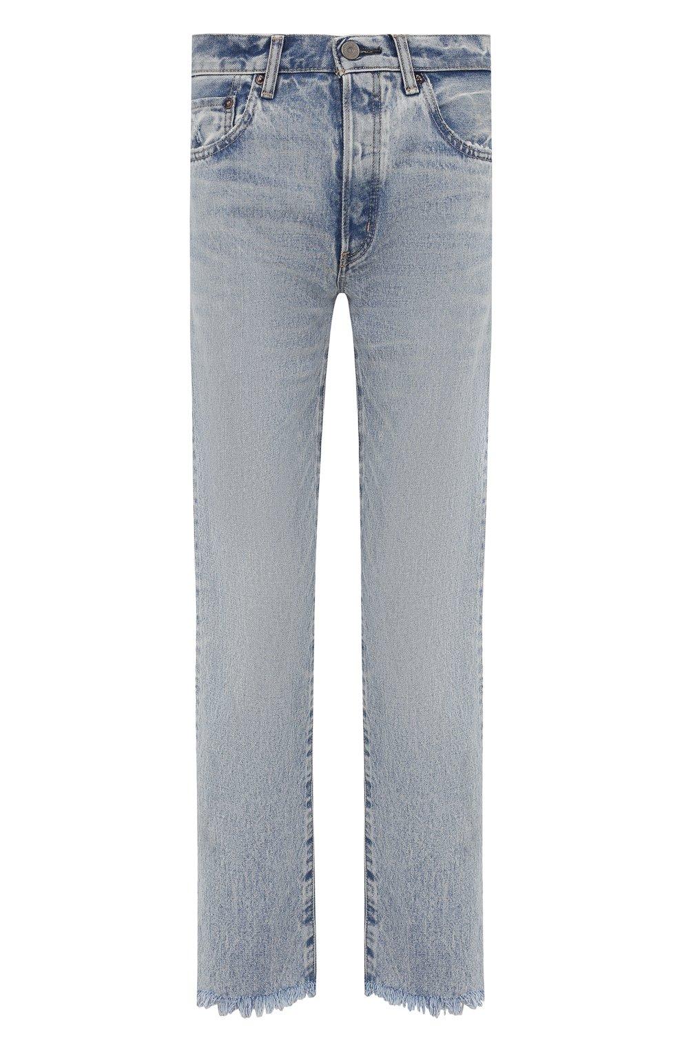 Женские джинсы MOUSSY голубого цвета, арт. 025ESC11-2600   Фото 1