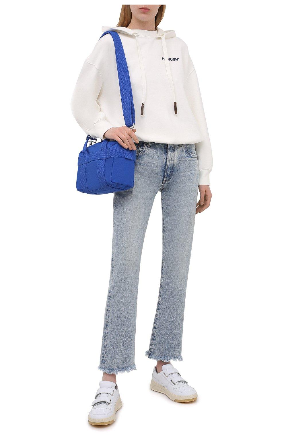 Женские джинсы MOUSSY голубого цвета, арт. 025ESC11-2600   Фото 2