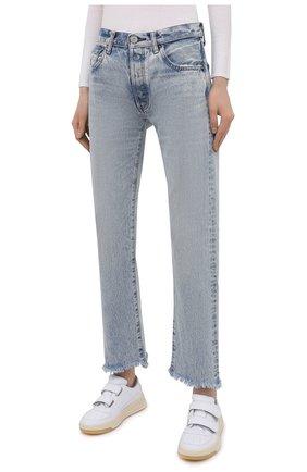 Женские джинсы MOUSSY голубого цвета, арт. 025ESC11-2600   Фото 3