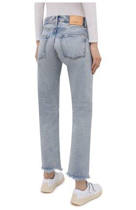 Женские джинсы MOUSSY голубого цвета, арт. 025ESC11-2600   Фото 4