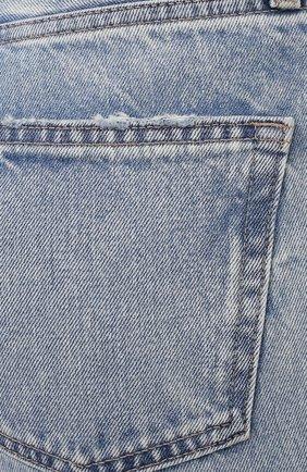 Женские джинсы MOUSSY голубого цвета, арт. 025ESC11-2600   Фото 5