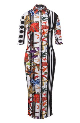 Женское платье VERSACE разноцветного цвета, арт. A89232/1F01292 | Фото 1