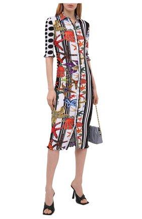 Женское платье VERSACE разноцветного цвета, арт. A89232/1F01292 | Фото 2