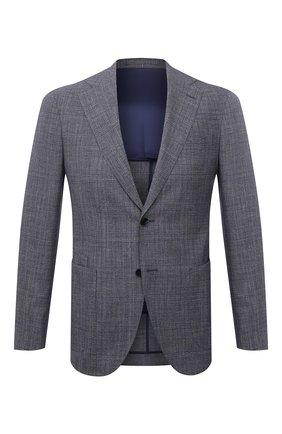 Пиджак из шерсти и шелка | Фото №1