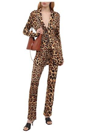 Женский жакет из вискозы PACO RABANNE леопардового цвета, арт. 21EJVE095VI0231 | Фото 2