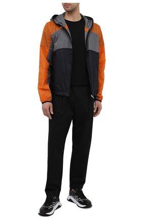Мужская куртка 5 moncler craig green MONCLER темно-синего цвета, арт. G1-09H-1A000-20-M1251 | Фото 2