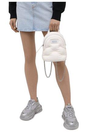 Женский рюкзак glam slam MAISON MARGIELA белого цвета, арт. S56WA0014/PR818 | Фото 2