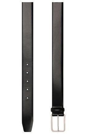 Мужской кожаный ремень BOSS темно-синего цвета, арт. 50435213 | Фото 2