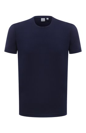 Мужская хлопковая футболка ASPESI темно-синего цвета, арт. S1 A 3107 C089 | Фото 1