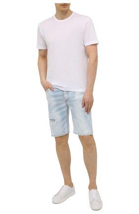 Мужская хлопковая футболка ASPESI белого цвета, арт. S1 A 3107 C089 | Фото 2