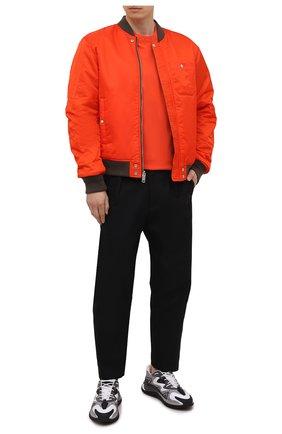 Мужская хлопковая футболка ASPESI оранжевого цвета, арт. S1 A AY43 G454 | Фото 2