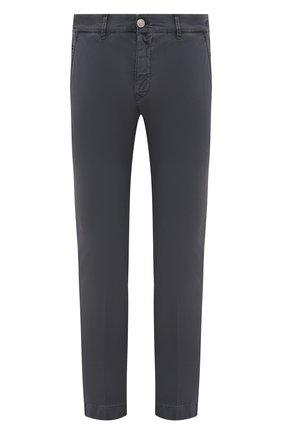 Мужские хлопковые брюки JACOB COHEN темно-серого цвета, арт. B0BBY C0MF 08165-V/55   Фото 1