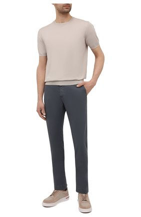 Мужские хлопковые брюки JACOB COHEN темно-серого цвета, арт. B0BBY C0MF 08165-V/55   Фото 2