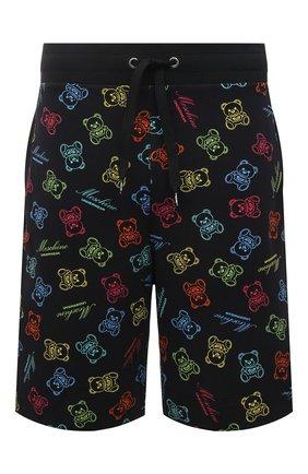 Мужские хлопковые шорты MOSCHINO разноцветного цвета, арт. A4307/8109 | Фото 1