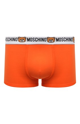 Мужские хлопковые боксеры MOSCHINO оранжевого цвета, арт. A4732/8119 | Фото 1