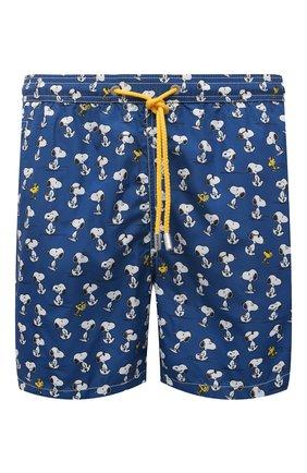Мужские плавки-шорты MC2 SAINT BARTH темно-синего цвета, арт. STBM LIGHTING MICR0 FANTASY/LIG0003 | Фото 1