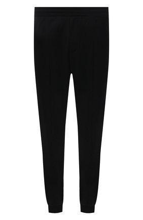 Мужские шерстяные джоггеры BERLUTI черного цвета, арт. R20TCU67-001 | Фото 1