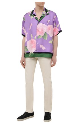 Мужские джинсы TOM FORD светло-бежевого цвета, арт. BWJ32/TFD002 | Фото 2
