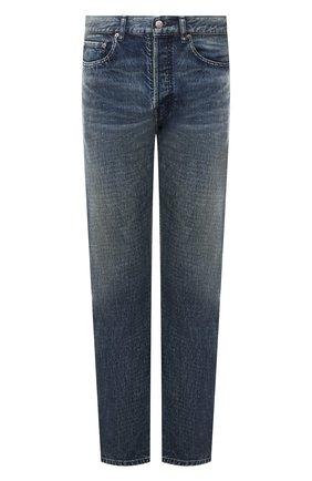 Мужские джинсы AMBUSH темно-синего цвета, арт. BMYA002S21DEN001 | Фото 1