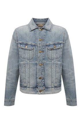 Мужская джинсовая куртка POLO RALPH LAUREN синего цвета, арт. 710830859 | Фото 1