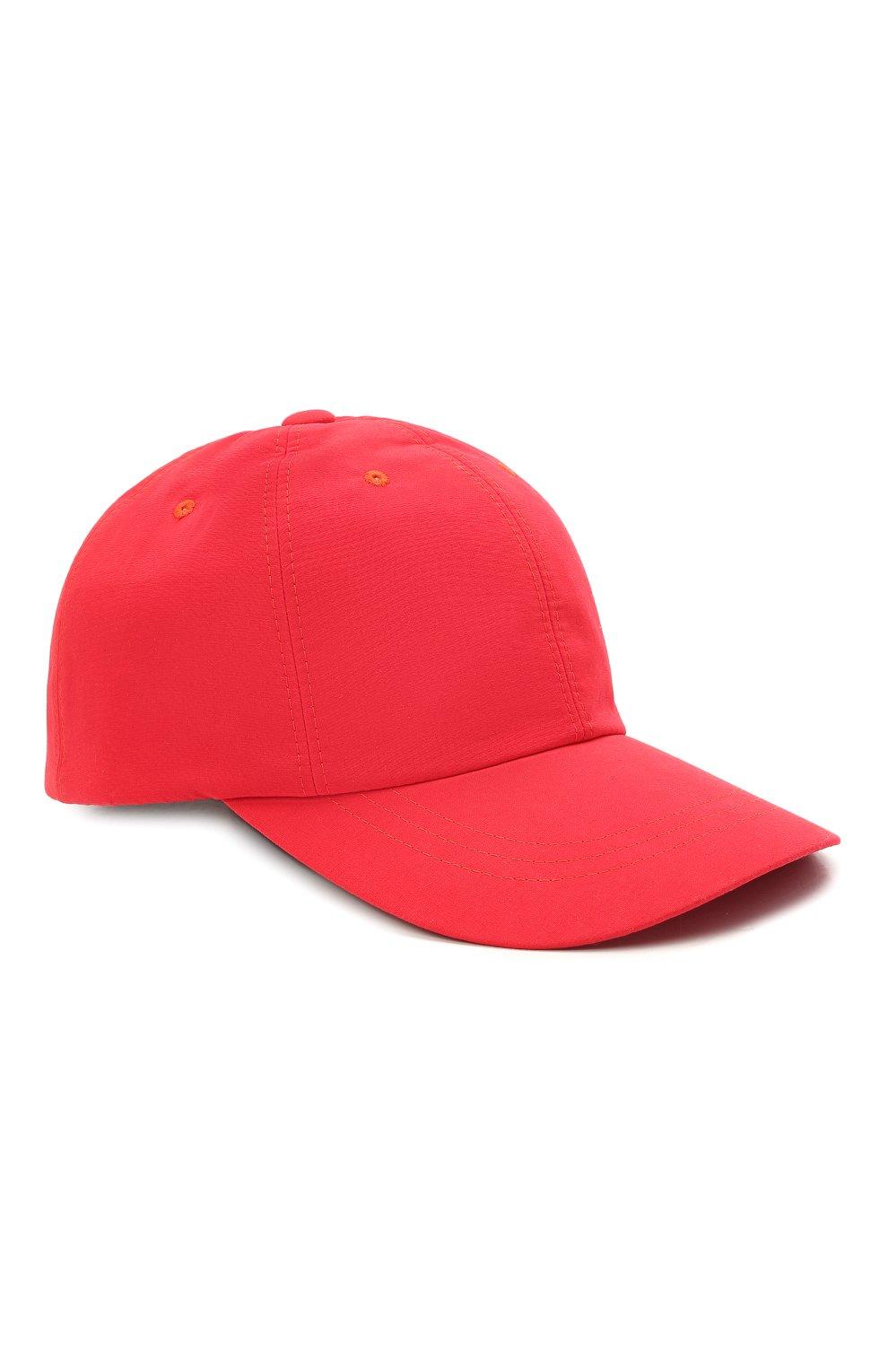 Мужской бейсболка ZILLI красного цвета, арт. MHV-CAP12-UNIC0/0001 | Фото 1 (Материал: Текстиль)