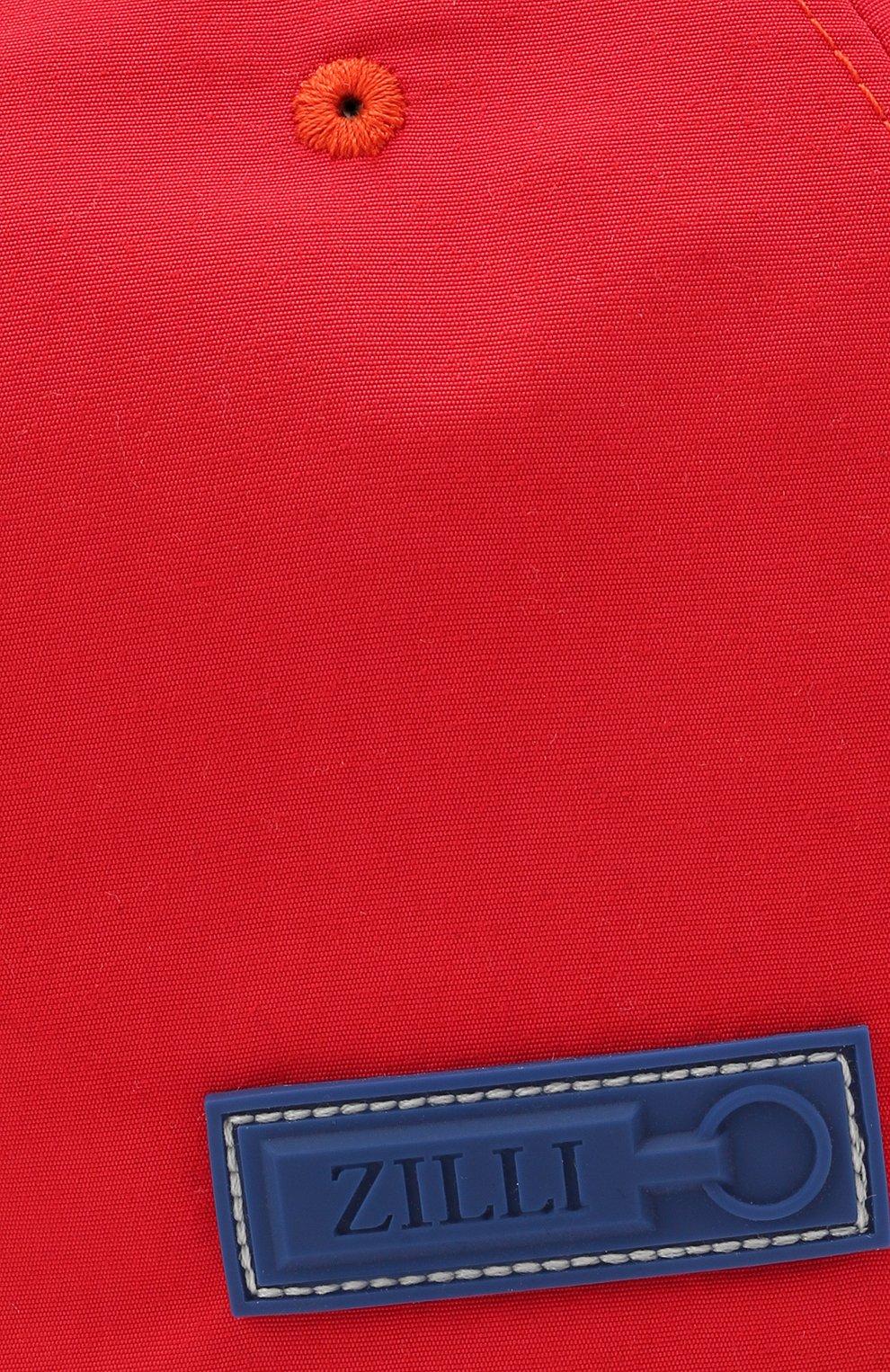 Мужской бейсболка ZILLI красного цвета, арт. MHV-CAP12-UNIC0/0001 | Фото 3 (Материал: Текстиль)