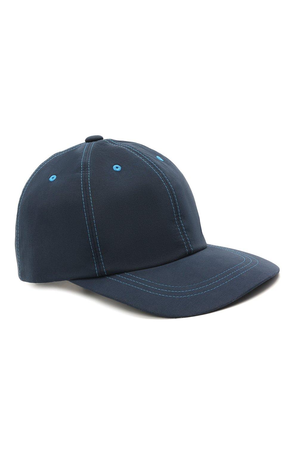 Мужской бейсболка ZILLI синего цвета, арт. MHV-CAP12-UNIC0/0001 | Фото 1 (Материал: Текстиль)