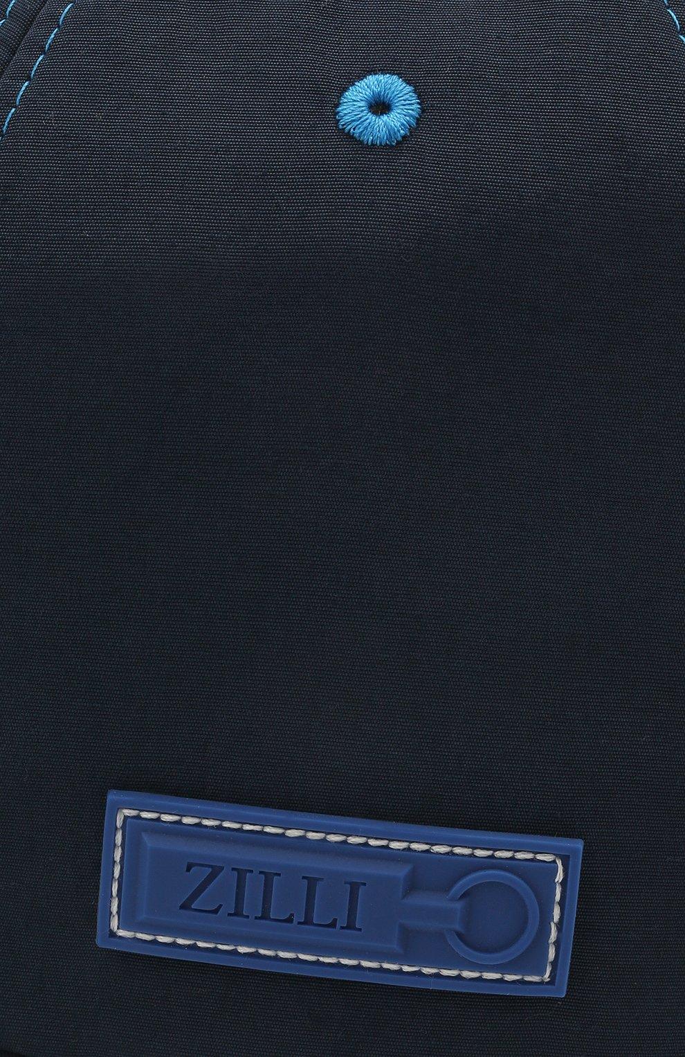 Мужской бейсболка ZILLI синего цвета, арт. MHV-CAP12-UNIC0/0001 | Фото 3 (Материал: Текстиль)