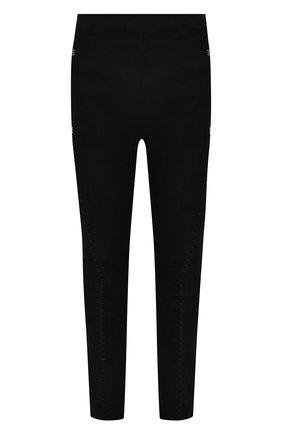 Мужские кожаные брюки ISAAC SELLAM черного цвета, арт. S0USMARIN-STRETCH H22   Фото 1