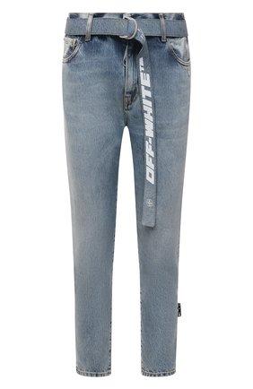 Мужские джинсы OFF-WHITE синего цвета, арт. 0MYA005S21DEN004 | Фото 1