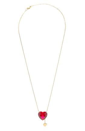Женская колье J-POINT золотого цвета, арт. ИПГ857.26.250321.12Y   Фото 1 (Материал: Золото)